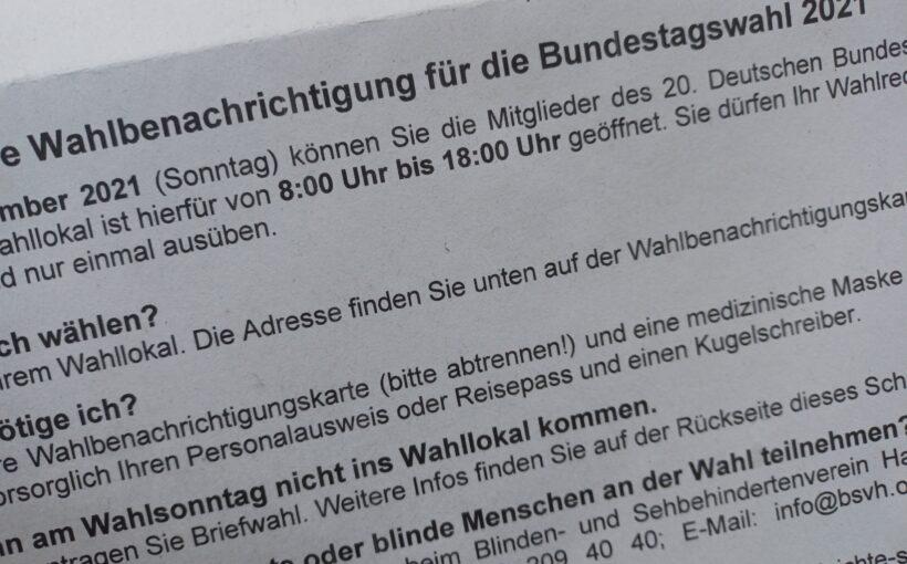 Klimaangst-Studie Klimawahl Bundestagswahl 2021